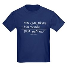 chocolate/vanilla T