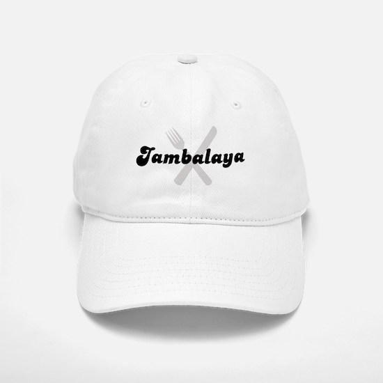 Jambalaya (fork and knife) Baseball Baseball Cap