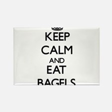 Keep calm and eat Bagels Magnets