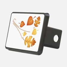 Falling Autumn Leaves Hitch Cover