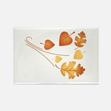 Falling Autumn Leaves Magnets