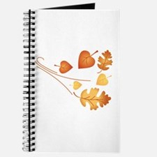 Falling Autumn Leaves Journal