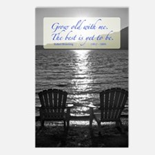 Grow Old With Me Poem Postcards (Package Of 8)
