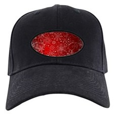 SNOWFLAKES (RED) Baseball Hat