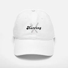 Herring (fork and knife) Baseball Baseball Cap