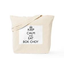 Keep calm and eat Bok Choy Tote Bag