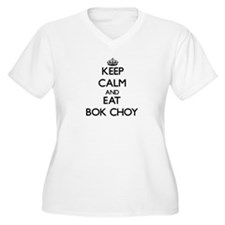 Keep calm and eat Bok Choy Plus Size T-Shirt
