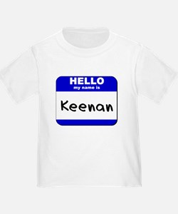 hello my name is keenan T