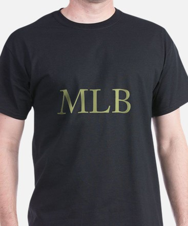 Gold Initials T-Shirt