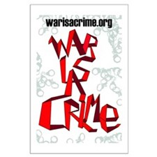 War Is A Crime Large Poster