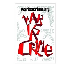 War Is A Crime Postcards (Package of 8)