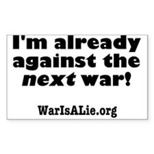 War Is A Lie Decal
