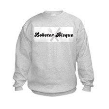 Lobster Bisque (fork and knif Sweatshirt