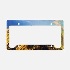 Rainbow Trout - Fly Fishing License Plate Holder