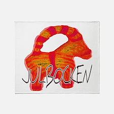 Julbocken the Yule Goat Throw Blanket