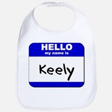 hello my name is keely  Bib