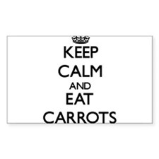 Keep calm and eat Carrots Decal