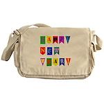 Happy New Year Messenger Bag