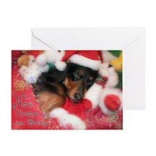 Christmas Card Stirring Greeting Cards