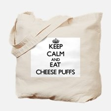 Keep calm and eat Cheese Puffs Tote Bag