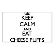 Keep calm and eat Cheese Puffs Decal