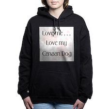 lovemecanaan.png Hooded Sweatshirt