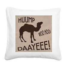 HUUMP DAAYEEE Square Canvas Pillow