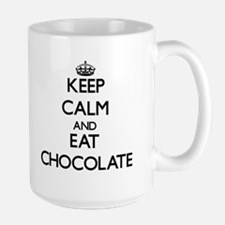 Keep calm and eat Chocolate Mugs