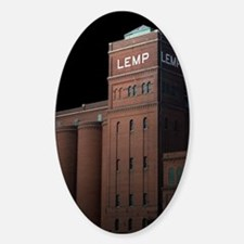 Moon Over St. Louis 3 Decal