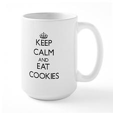 Keep calm and eat Cookies Mugs