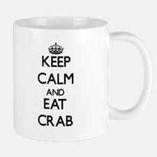 Keep calm and eat Crab Mugs