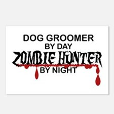 Zombie Hunter - Dog Groomer Postcards (Package of