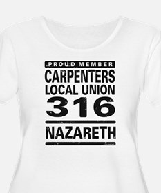 Carpenters Local Plus Size T-Shirt