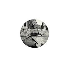 Romantic Gondola Ride on Venice Canals Mini Button