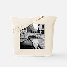 Romantic Gondola Ride on Venice Canals Tote Bag