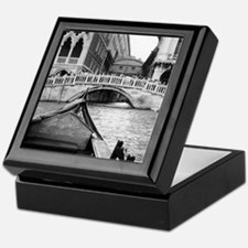 Romantic Gondola Ride on Venice Canal Keepsake Box