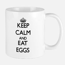 Keep calm and eat Eggs Mugs