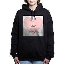 loveharriers2.png Hooded Sweatshirt