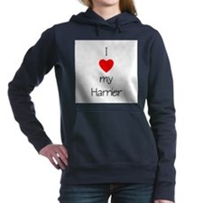 lovemyharrier.png Hooded Sweatshirt