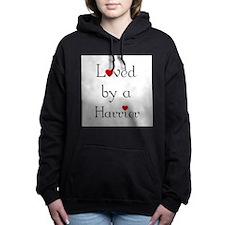lovedharrier.png Hooded Sweatshirt