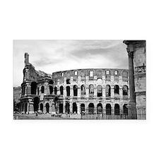 Roman Colosseum Italian Souve Rectangle Car Magnet