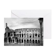 Roman Colosseum Italian Souvenir Greeting Card