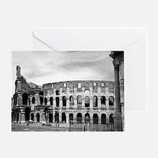 Roman Colosseum Italian Souvenir Greeting Card