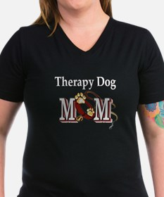 Therapy Dog Mom Shirt
