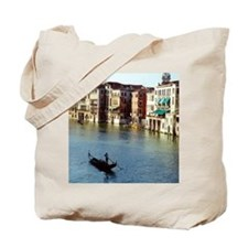 Venice Souvenir Gondola Ride on Grand Can Tote Bag