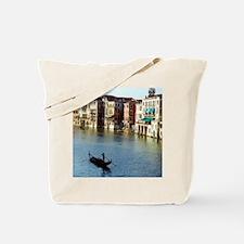 Venice Souvenir Gondola Ride on Grand Can Tote Bag
