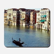 Venice Souvenir Gondola Ride on Grand Ca Mousepad