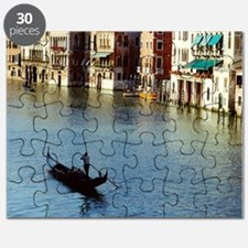Venice Souvenir Gondola Ride on Grand Canal Puzzle
