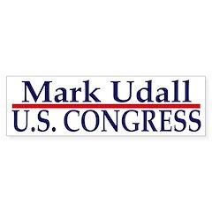 Re-Elect Mark Udall (bumper sticker)