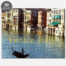Venice Italy Souvenir Gondola Ride Photo Puzzle